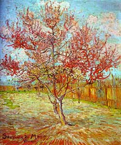 Peach Tree by Vincent Van Gogh